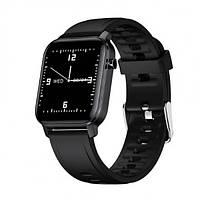 Смарт-часы HerzBand M2 с измерением пульса и уровня кислорода в крови + 15 спорт-режимов Черный