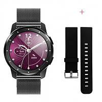 Смарт-часы Mafam MX11 с тонометром и пульсометром + 10 спорт-режимов и мониторинг сна + дополнительный