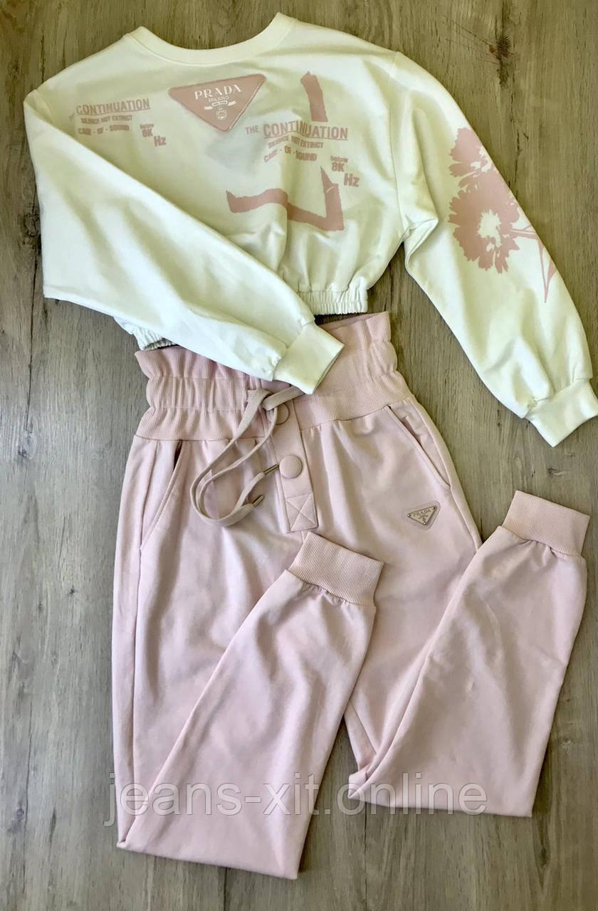 Fashion костюм Жін. L(р) пудра 70140 Prada Туреччина Весна-D