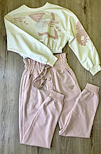 Fashion костюм жіночий XL(р) пудра 70140 Prada Туреччина Весна-D