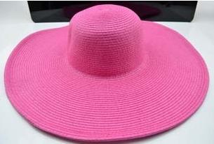 Жіноча пляжна капелюх Afrodita pink
