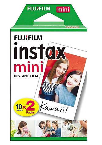 Фотопапір Fujifilm INSTAX MINI EU 2 GLOSSY (54х86мм 2х10шт), фото 2