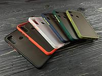 TPU чехол MATT для Xiaomi Redmi Note 8T