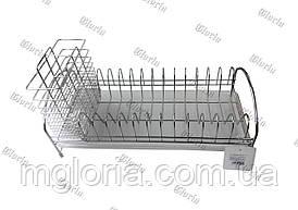 Сушилка  настольная  с держателем столовых приборов LF-514