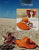 Жіноча пляжна капелюх Afrodita orange, фото 2