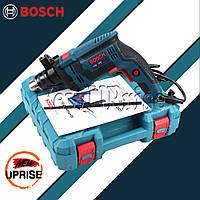Ударная дрель Bosch GSB 13RE с регулятором оборотов и набором Сетевая дрель Бош
