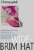 Жіноча пляжна капелюх Afrodita pink, фото 3