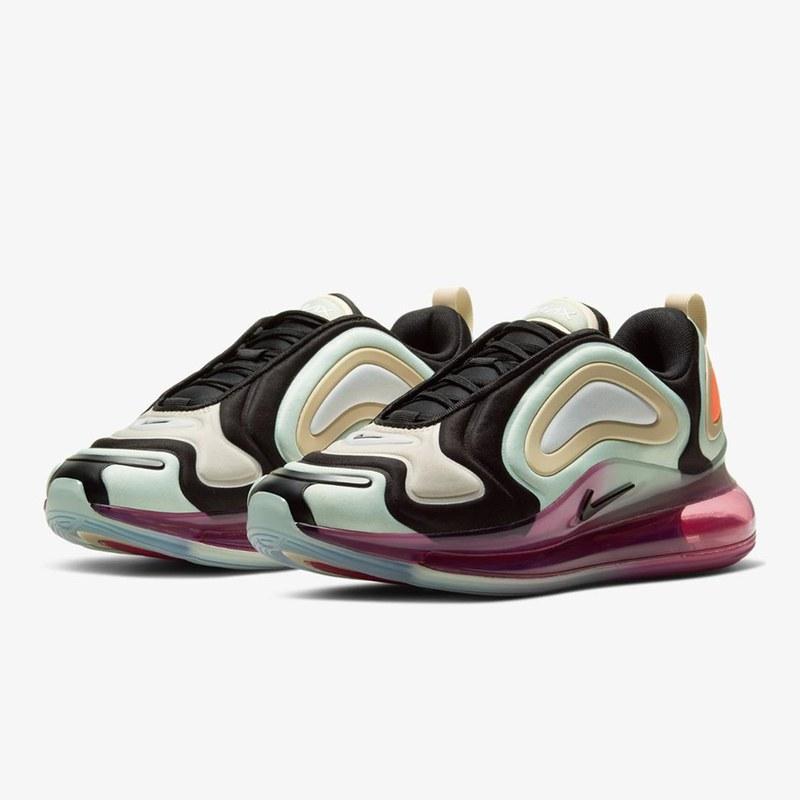Женские кроссовки Nike Air Max 720 / текстильные кроссовки Найк Аир Макс (Топ реплика ААА+)