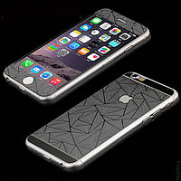 Защитная пленка Стекло iPhone 6 f/b Prizma 3D Silver