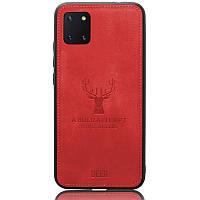Чехол Deer Case для Samsung Galaxy Note 10 Lite / A81 / M60s Red