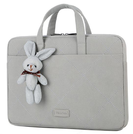 Сумка для Macbook Little rabbit grey с ручкой через плечо