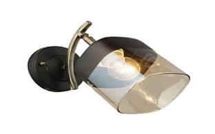 Бра с поворотным плафоном бронзового цвета SR-N3878/1W AB