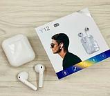 Бездротові Bluetooth-навушники Y-12 TWS, фото 2