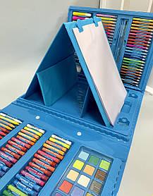 Набор для творчества рисования на 208 предметов Голубой