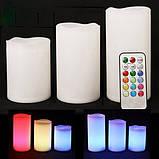 Светодиодные свечи с ароматом Лаванды LED Scented Candles, фото 2
