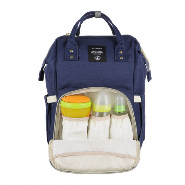 Сумка-рюкзак для мам UTM Синій