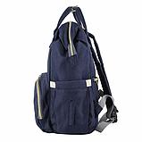 Сумка-рюкзак для мам UTM Синій, фото 2