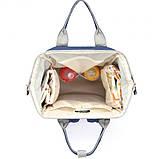Сумка-рюкзак для мам UTM Синій, фото 4