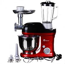Кухонний комбайн Domotec MS-2050 1200W Червоний