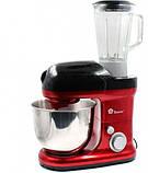 Кухонний комбайн Domotec MS-2050 1200W Червоний, фото 2