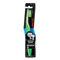 Johnson & Johnson Reach Dual Effect «средняя» Зубная щетка