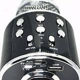 Беспроводной микрофон караоке UTM WS858 Black, фото 2