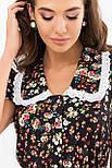 Сукня молодіжне в ретро стилі в квіти Еймі к/р, фото 4