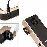 Автомобильный FM трансмиттер модулятор Car G7 Bluetooth Gold, фото 4