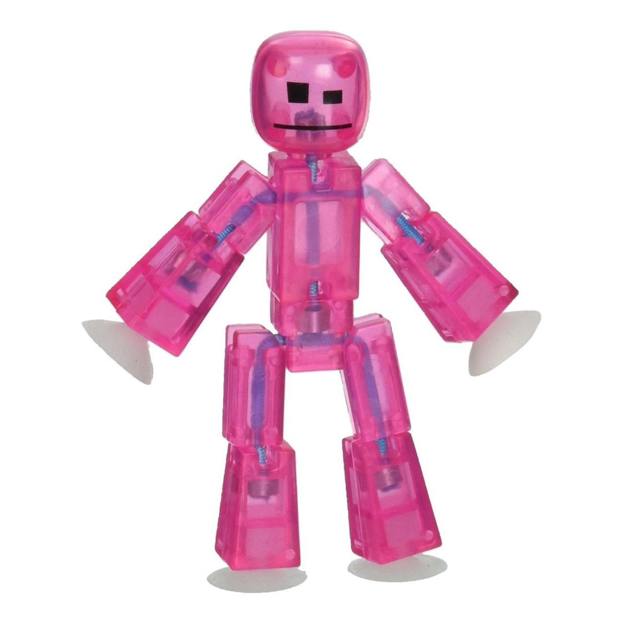 Фігурка для анімаційного творчості Stikbot Рожева