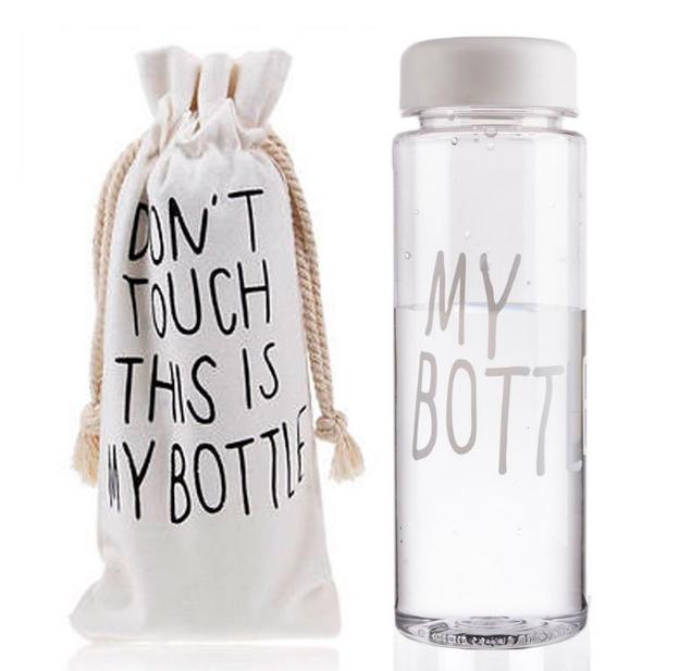 Пляшка для води My Bottle в чохлі White