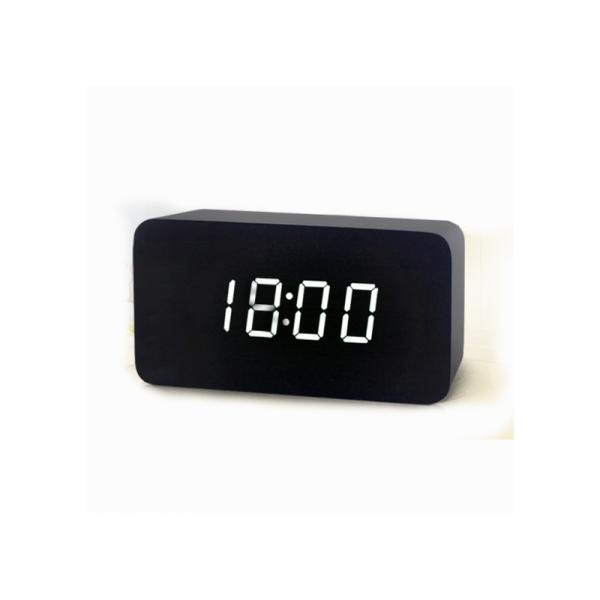 Настільний годинник VST 863-5 під дерево Black