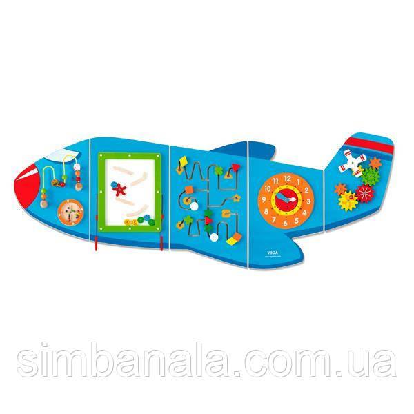 Бизиборд Viga Toys Самолетик (50673FSC)