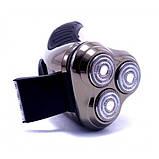 Мужская водонепроницаемая электробритва Rozia HT-907, фото 4