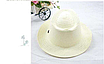 Детская пляжная соломенная шляпа Summer star brown, фото 2