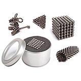 Конструктор-головоломка UTM Neocube 216 кульок Silver, фото 2