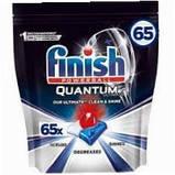 Капсулы гелевые для посудомоечных машин  Финиш Квантум  Ультимат Finish Quantum Ultimate Regular 60  шт, фото 3