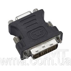 Адаптер DVI (M) - VGA (F)—Black