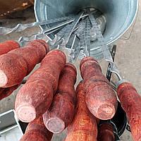 Шампур з деревяною ручкою 60см нержавійка 3мм