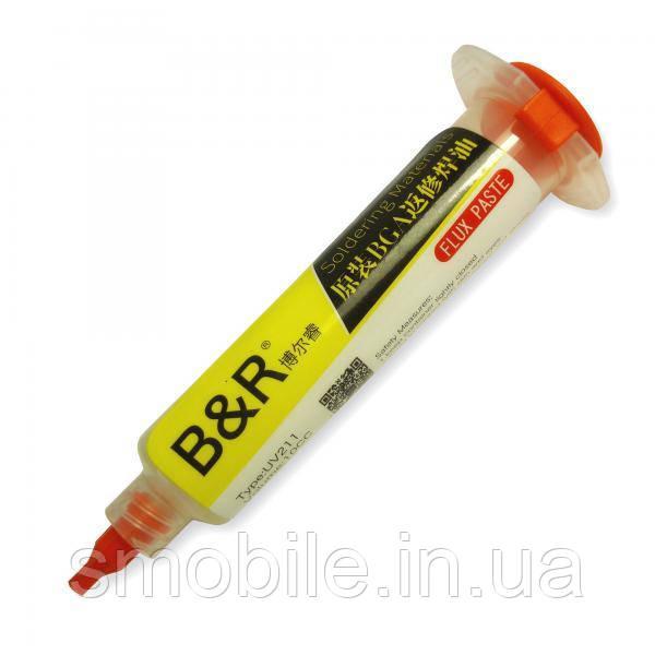 Паяльний флюс B&R UV211 (у шприці)