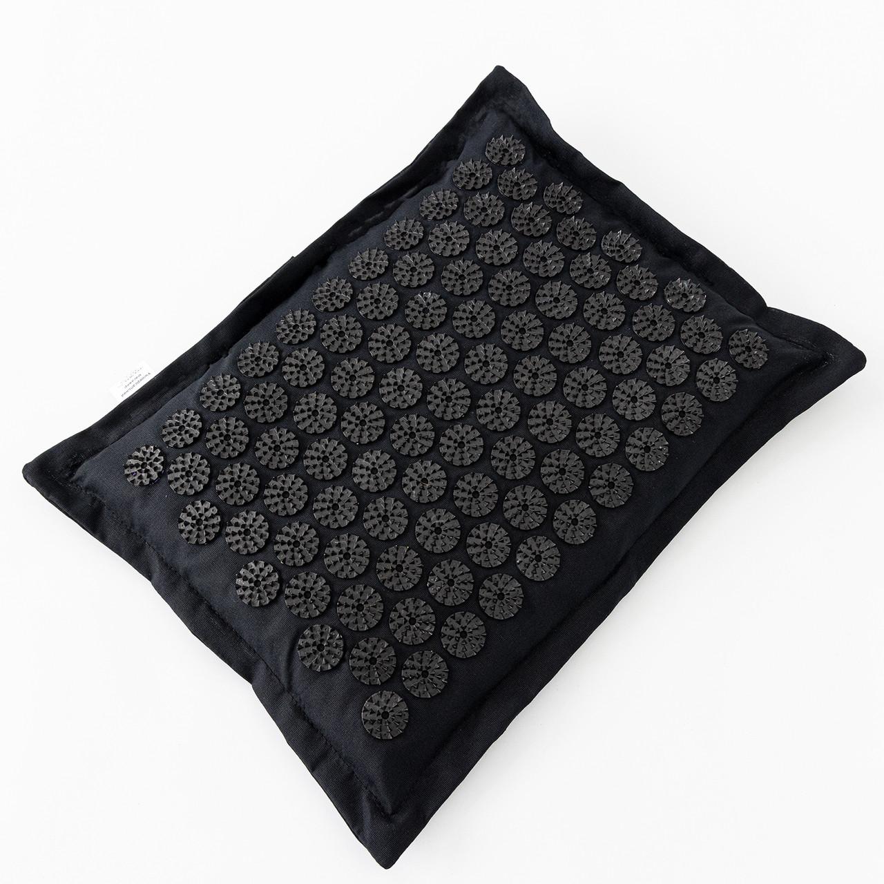 Масажна Подушка акупунктурна (аплікатор Кузнєцова) масажер для голови/шиї/спини OSPORT Premium (apl-017)