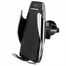 Автомобільний тримач Smart Sensor S5 UTM c бездротовою зарядкою