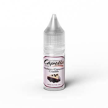 Ароматизатор Capella Blueberry Cinnamon Crumble (Черничный пирог)