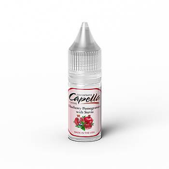 Ароматизатор Capella Blueberry Pomegranate with Stevia (Сладкая Черника с Гранатом)