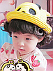 Детская пляжная соломенная шляпа Panda star brown, фото 4