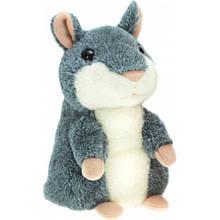 Інтерактивна іграшка Говорить Хом'як UTM повторюшка Grey