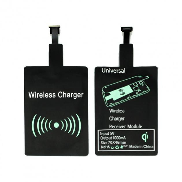 Приемник для беспроводной зарядки Wireless Charger для Android Black