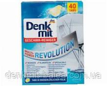 Таблетки для посудомоечных машин Революционная мульти сила  Denkmit Multi-Power Revolution  40 шт (Революшн)