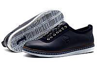 Туфли Samas Barcode, мужские, натуральная кожа, синие, фото 1