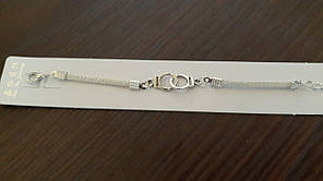 Браслет жіночий 21 см наручники, фото 2