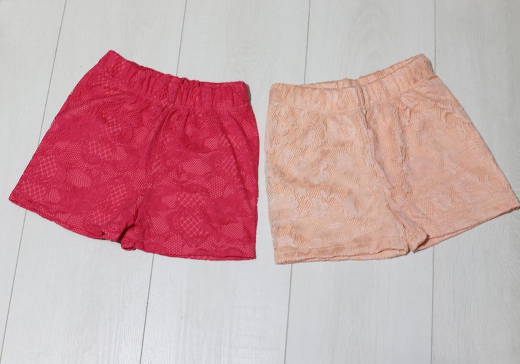 Шорты  для девочки.трикотажные, (ажур), Isobel  (размер 104-110)